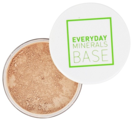 Everyday Minerals - Semi Matte Base Golden Medium - 0.17 oz. Formerly Light Medium