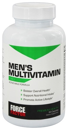 Force Factor - Men's Multivitamin Daily - 60 Tablets