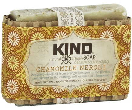 DROPPED: Kind Soap Co. - Artisan Aromatherapy Bar Soap Chamomile Neroli - 4.5 oz.
