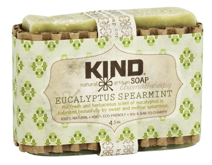Kind Soap Co. - Artisan Aromatherapy Bar Soap Eucalyptus Spearmint - 4.5 oz.
