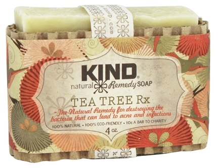 DROPPED: Kind Soap Co. - Natural Remedy Bar Soap Tea Tree Rx - 4 oz.