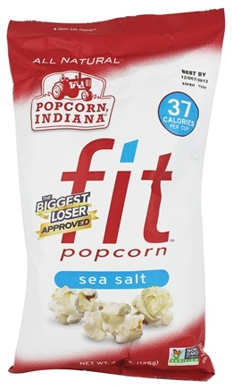 DROPPED: Popcorn Indiana - Fit Popcorn Sea Salt - 4.4 oz.