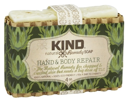 Kind Soap Co. - Natural Remedy Bar Soap Hand & Body Repair - 4 oz.