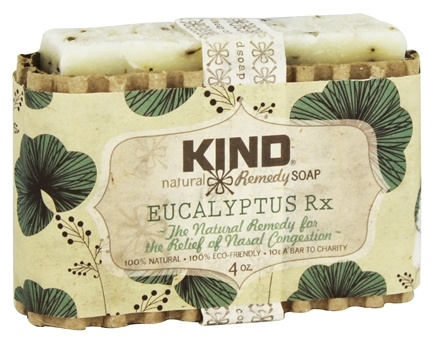 Kind Soap Co. - Natural Remedy Bar Soap Eucalyptus Rx - 4 oz.