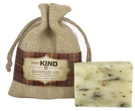 Kind Soap Co. - ManKind Shower & Shampoo Bar Mountain Air - 4.5 oz.