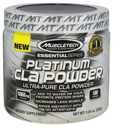Muscletech Products - Platinum Essential Series Pure CLA Powder - 7.05 oz.