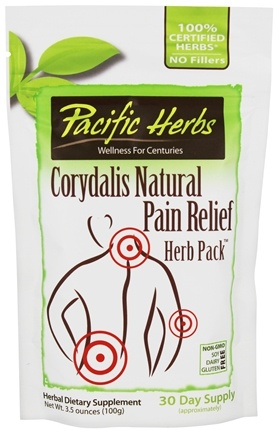 Pacific Herbs - Corydalis Pain Relief Herb Pack - 3.5 oz.