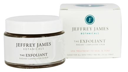 Jeffrey James Botanicals - The Exfoliant Radiant Complexion Scrub - 2 oz.