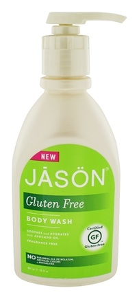 Jason Natural Products - Gluten Free Body Wash Fragrance Free - 30 oz.