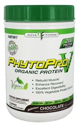 DROPPED: NovaForme - PhytoPro-V Organic Protein Chocolate - 1.3 lbs.