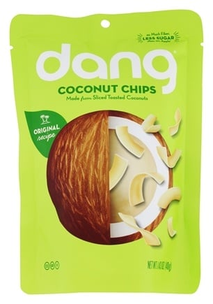 Dang - Toasted Coconut Chips Original - 1.43 oz.