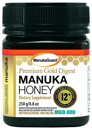Manuka Guard - Premium Gold 12+ Manuka Honey - 8.8 oz.