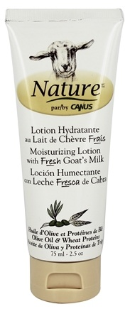 DROPPED: Canus - Nature Moisturizing Lotion Olive Oil & Wheat Proteins - 2.5 oz.