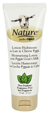 Canus - Nature Moisturizing Lotion Fragrance Free - 2.5 oz.