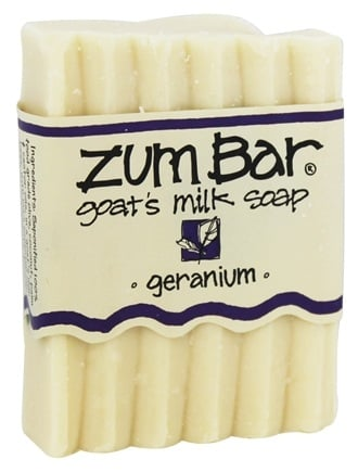 Indigo Wild - Zum Bar Goat's Milk Soap Geranium - 3 oz.