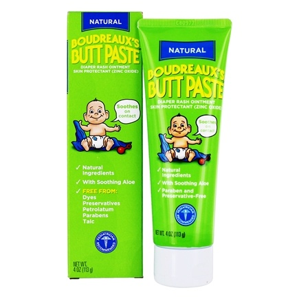 Boudreaux's Butt Paste - All Natural Butt Paste - 4 oz.