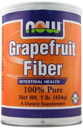 DROPPED: NOW Foods - Grapefruit Fiber - Intestinal Health - 1 lb.