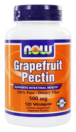 NOW Foods - Grapefruit Pectin 500 mg. - 120 Vegetarian Capsules