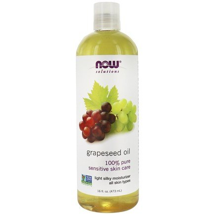 NOW Foods - Grapeseed Oil - 16 oz.