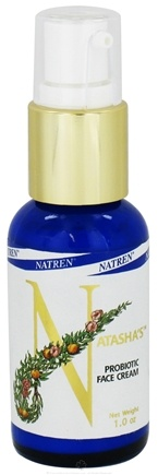 DROPPED: Natren - Natasha's Probiotic Face Cream - 1 oz. CLEARANCE PRICED