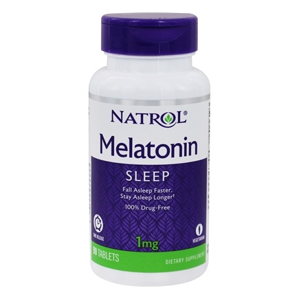 Natrol - Melatonin Time Release 1 mg. - 90 Tablets
