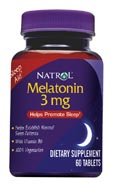 DROPPED: Natrol - Melatonin 3 mg. - 160 Tablets