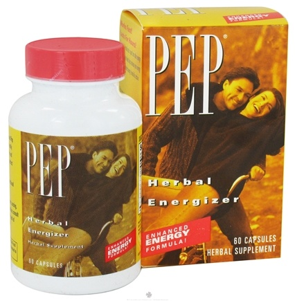 DROPPED: Natural Balance - Pep Enhanced Energy Formula - 60 Capsules CLEARANCE PRICED