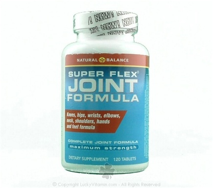 DROPPED: Natural Balance - Super Flex Joint Formulas - 120 Tablets