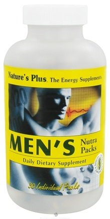 DROPPED: Nature's Plus - Men's Nutra Pack Tablets/Softgels - 30 Pack(s)