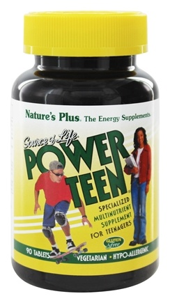 Nature's Plus - Source Of Life Power-Teen - 90 Tablets