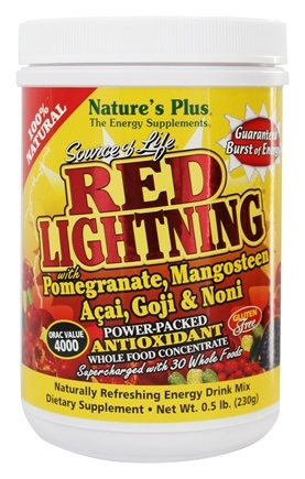 Nature's Plus - Source of Life Red Lightning Power Packed Antioxidant - 0.5 lbs.