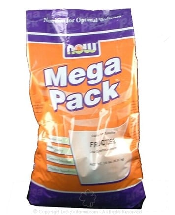 DROPPED: NOW Foods - Fructose Mega Pack - 15 lbs.
