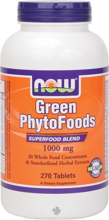 DROPPED: NOW Foods - Green Phytofoods 1000 mg. - 270 Tablets CLEARANCE PRICED