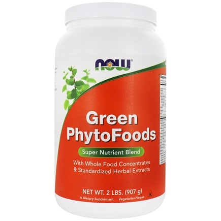 NOW Foods - Green PhytoFoods - 2 lbs.