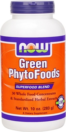 DROPPED: NOW Foods - Green Phytofoods Powder - 10 oz. CLEARANCE PRICED