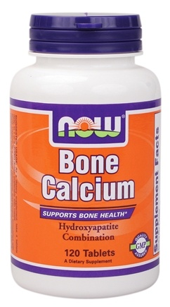 DROPPED: NOW Foods - Bone Calcium - 120 Tablets CLEARANCE PRICED