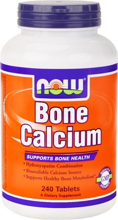 DROPPED: NOW Foods - Bone Calcium - 240 Tablets