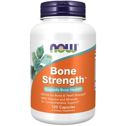 DROPPED: NOW Foods - Bone Strength - 120 Capsules