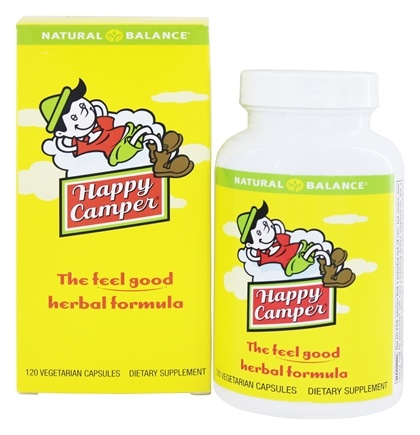 Natural Balance - Happy Camper - 120 Capsules