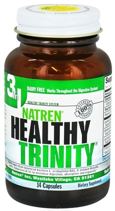 DROPPED: Natren - Healthy Trinity 14 Day - 14 Capsules CLEARANCE PRICED