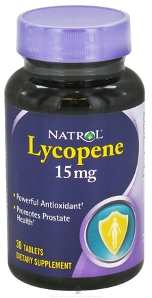 DROPPED: Natrol - Lycopene 15 mg. - 30 Tablets CLEARANCED PRICED