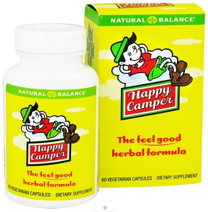 DROPPED: Natural Balance - Happy Camper - 60 Vegetarian Capsules CLEARANCE PRICED