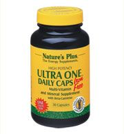 DROPPED: Nature's Plus - Ultra One Daily Caps Iron-Free - 60 Capsules