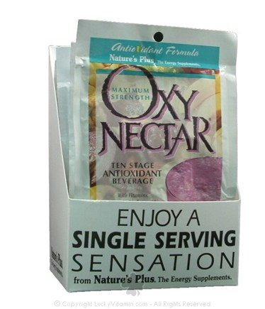 DROPPED: Nature's Plus - Oxy-Nectar Ten-Stage Antioxidant Natural Mixed Berry Flavor - 1 Packet(s)