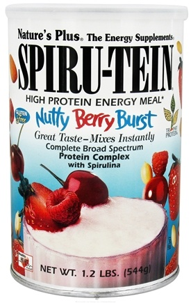 DROPPED: Nature's Plus - Spiru-Tein High Protein Energy Meal Nutty Berry Burst - 1.2 lbs.