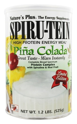 Nature's Plus - Spiru-Tein High Protein Energy Meal Pina Colada - 1.2 lbs.