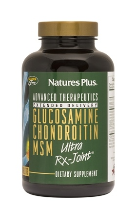 Nature's Plus - Glucosamine Chondroitin MSM Ultra Rx-Joint - 180 Tablets