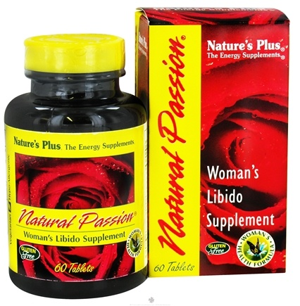 DROPPED: Nature's Plus - Natural Passion - 60 Tablets CLEARANCE PRICED