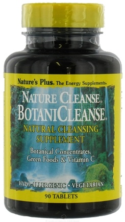 DROPPED: Nature's Plus - Nature Cleanse BotaniCleanse - 90 Tablets