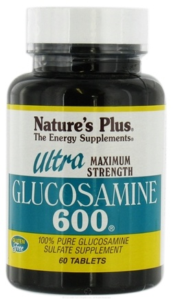 DROPPED: Nature's Plus - Ultra Glucosamine 600 mg. - 60 Tablets